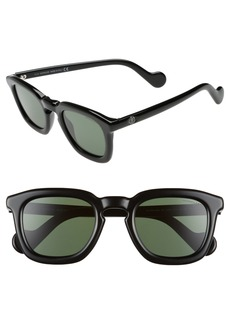 Moncler 50mm Square Sunglasses
