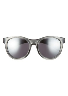 Moncler 52mm Mirrored Round Sunglasses