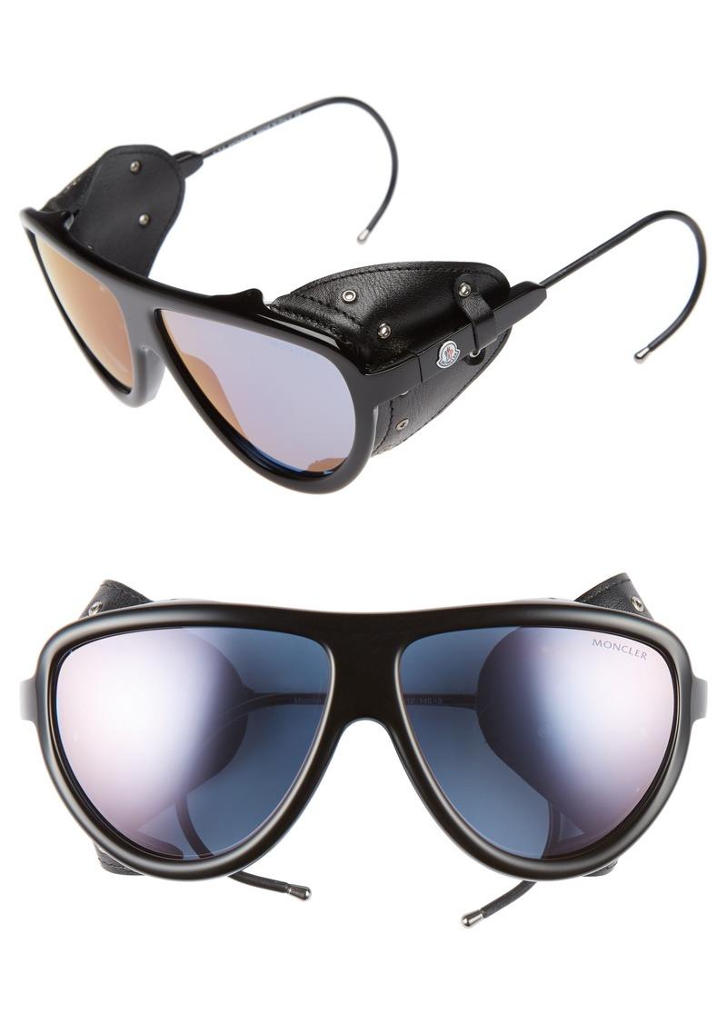8af5cc2d7e70 Moncler Moncler 57mm Mirrored Shield Sunglasses