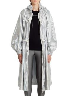 Moncler Akubens Water Resistant Hooded Rain Jacket