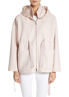 Moncler Anglesite Wool & Cashmere Hooded Jacket