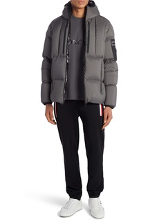 Moncler Arcachon Hooded Down Jacket