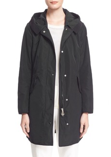 Moncler 'Argeline' Long Hooded Raincoat