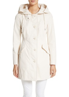 Moncler Audrey Water Resistant Hooded Raincoat