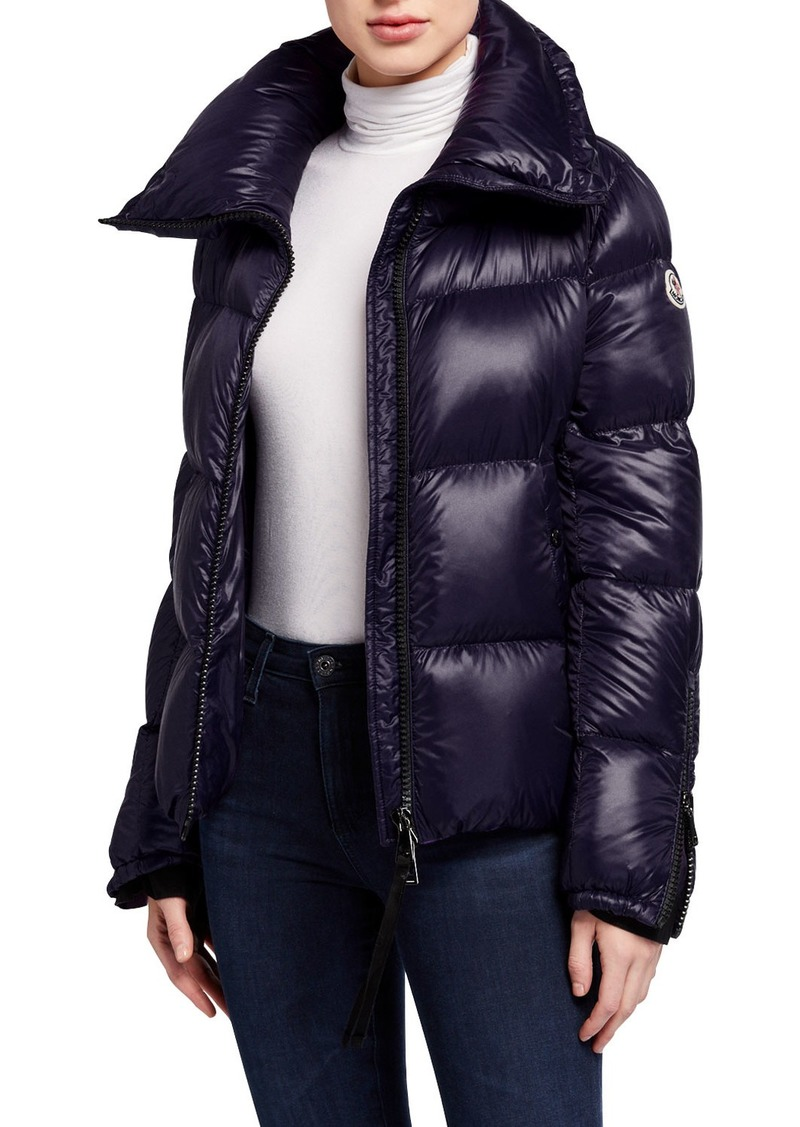 Moncler Bandama Zip-Sleeve Puffer Coat