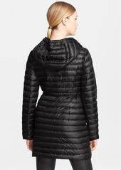 Moncler 'Barbel' Belted Hooded Down Coat