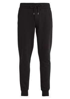 Moncler Basic tapered-leg cotton track pants