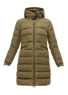 Moncler Betulong A-line quilted-down coat