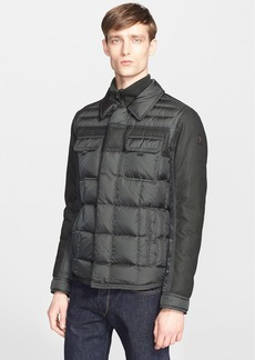 Moncler 'Blais' Mixed Media Down Jacket