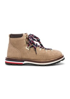 Moncler Blanche Suede Scarpa Boots