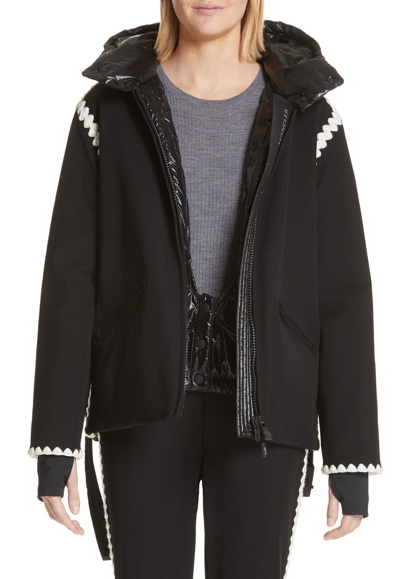 c1bf31711 Bourget Embroidered Hooded Down Coat