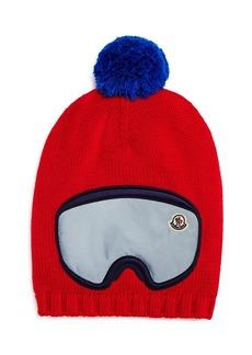 Moncler Boys' Ski Goggles Hat - Big Kid