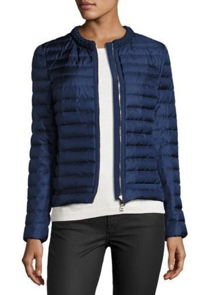 Moncler Moncler Camomille Quilted Silk Jacket | Outerwear - Shop ... : quilted silk - Adamdwight.com