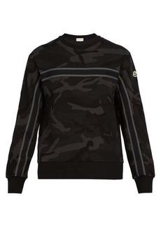 Moncler Camouflage-print cotton sweatshirt