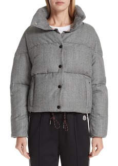 Moncler Cer Wool Down Puffer Jacket