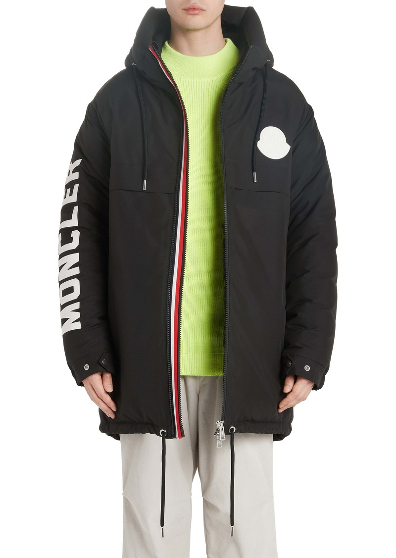 Moncler Chanier Hooded Down Jacket