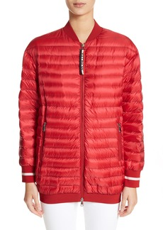 Moncler Charoite Water Resistant Down Puffer Coat
