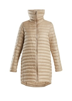 Moncler Citrinelle funnel-neck quilted coat