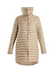 Moncler Citrinelle funnel-neck quilted coat