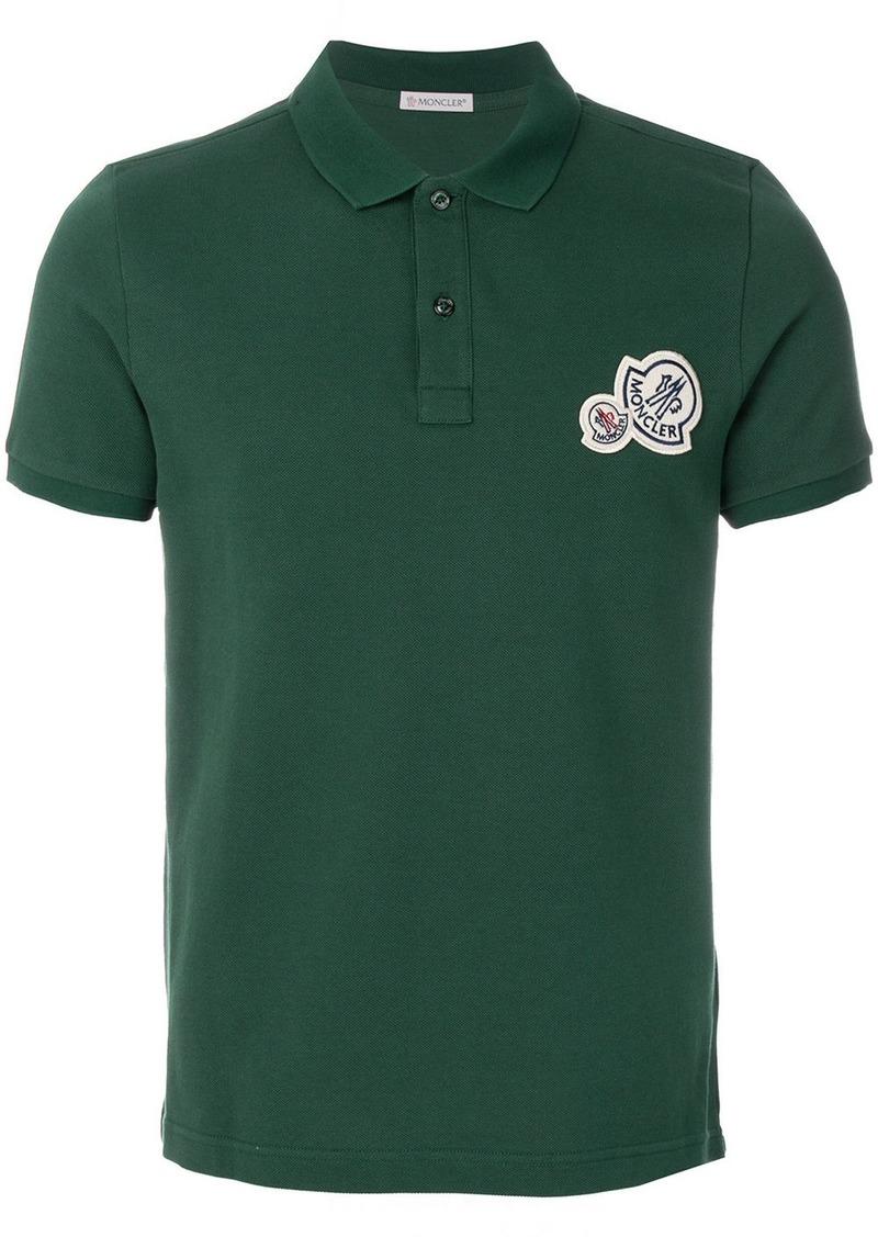 Moncler Moncler Classic Design Polo Shirt Green Casual