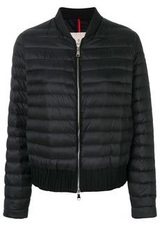 Moncler classic padded bomber jacket - Blue