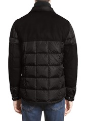 813737c28 Moncler Moncler Clovis Mixed Media Quilted Down Jacket