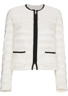 Moncler collarless puffer jacket - Unavailable