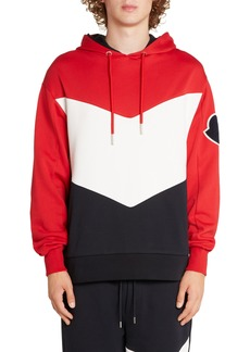 Moncler Colorblock Hooded Sweatshirt
