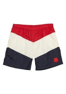 Moncler Colorblock Swim Trunks (Little Boys & Big Boys)