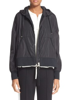 Moncler Comte Hooded Rain Jacket