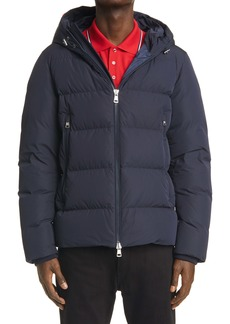 Moncler Corborant Hooded Down Puffer Jacket