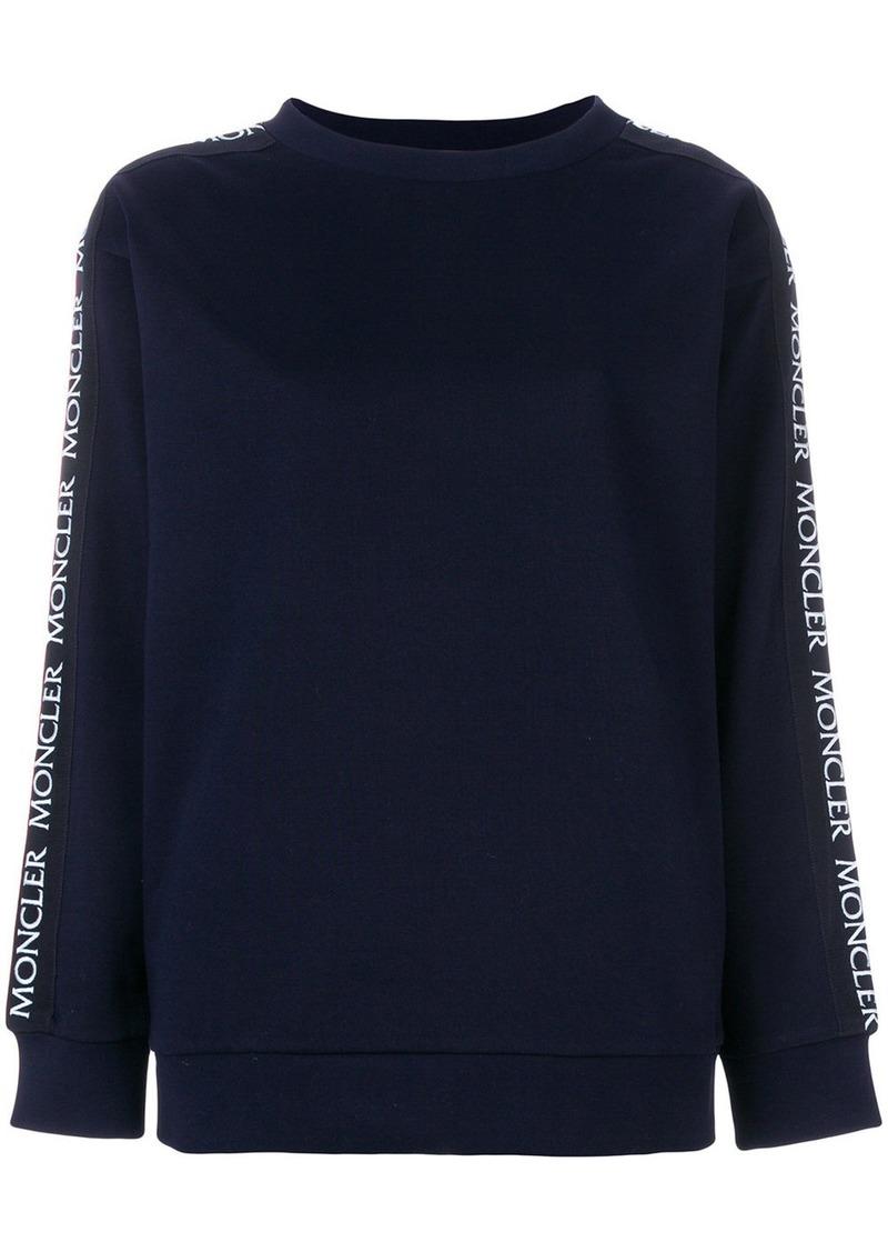 Moncler crew neck sweatshirt