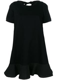 Moncler cut-out back T-shirt dress - Black
