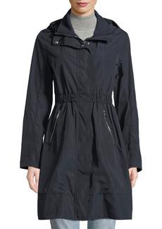 Moncler Disthelon Mid-Length Hooded Jacket