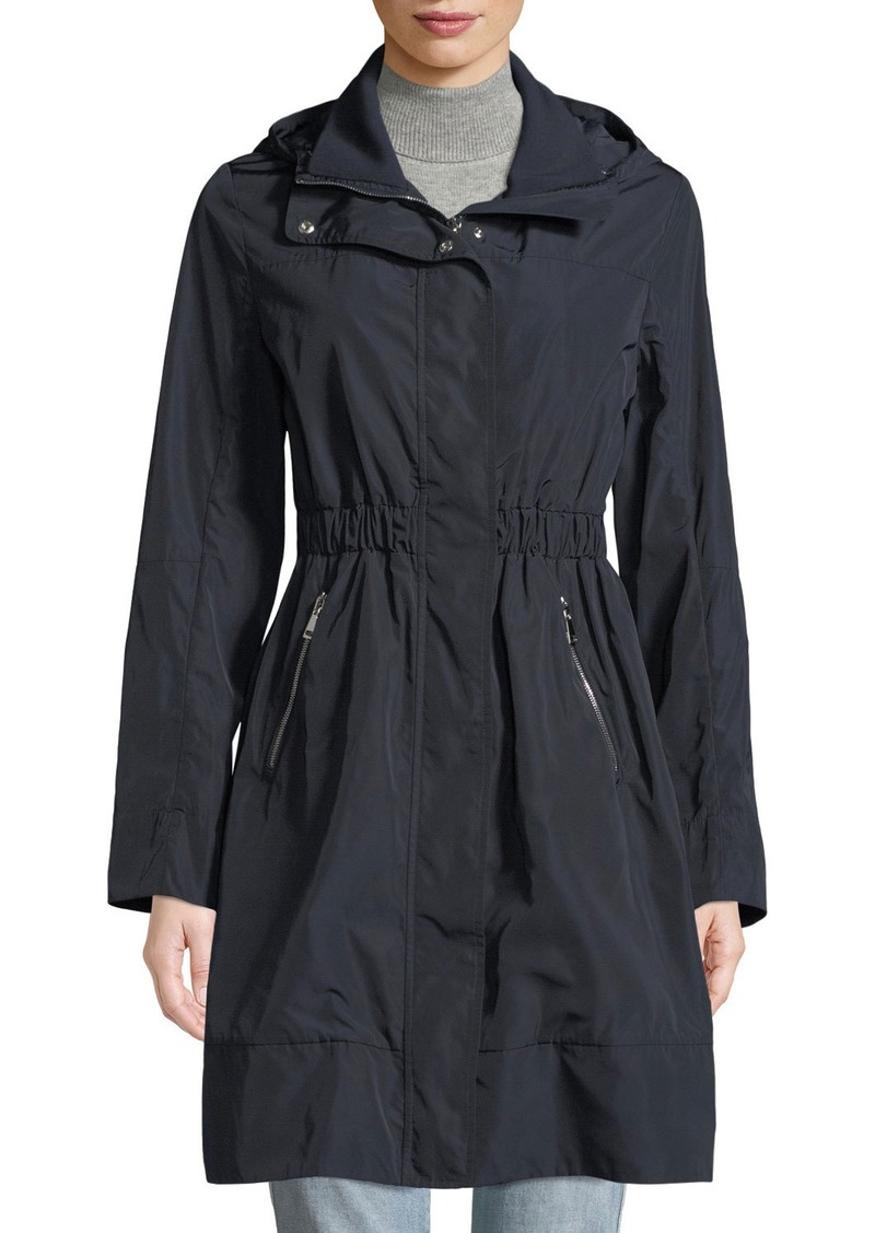 Moncler Disthelon Mid-Length Hooded Jacket