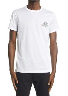 Moncler Double Logo Cotton T-Shirt