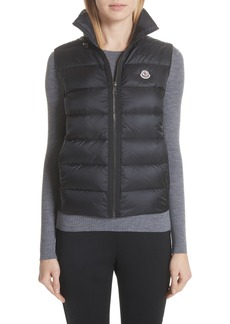 Moncler Down Quilted Fleece Vest