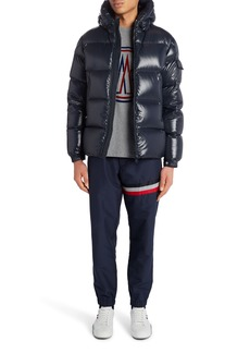 Moncler Ecrins Hooded Down Puffer Jacket