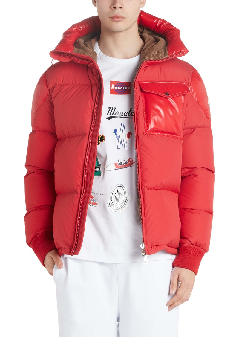 Moncler Eloy Quilted Hooded Puffer Coat