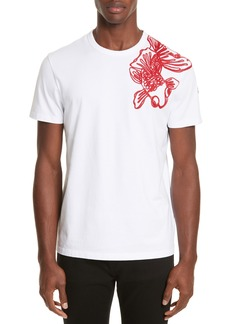 Moncler Embroidered Koi Fish T-Shirt