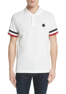 Moncler Flag Sleeve Polo