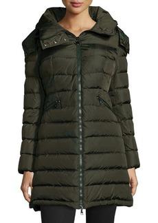 Moncler Flammette Long Puffer Jacket