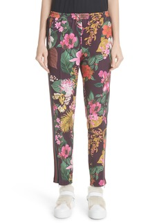 Moncler Floral Print Track Pants