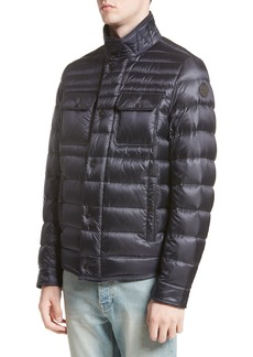 Moncler Forbin Stand Collar Quilted Down Jacket
