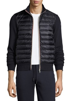 Moncler Full-Zip Down Cardigan
