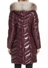 d63c91152a8e ... Moncler Fulmar Hooded Down Puffer Coat with Removable Genuine Fox Fur  Trim