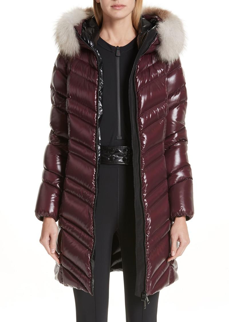 2cd408dd4 Fulmar Hooded Down Puffer Coat with Removable Genuine Fox Fur Trim