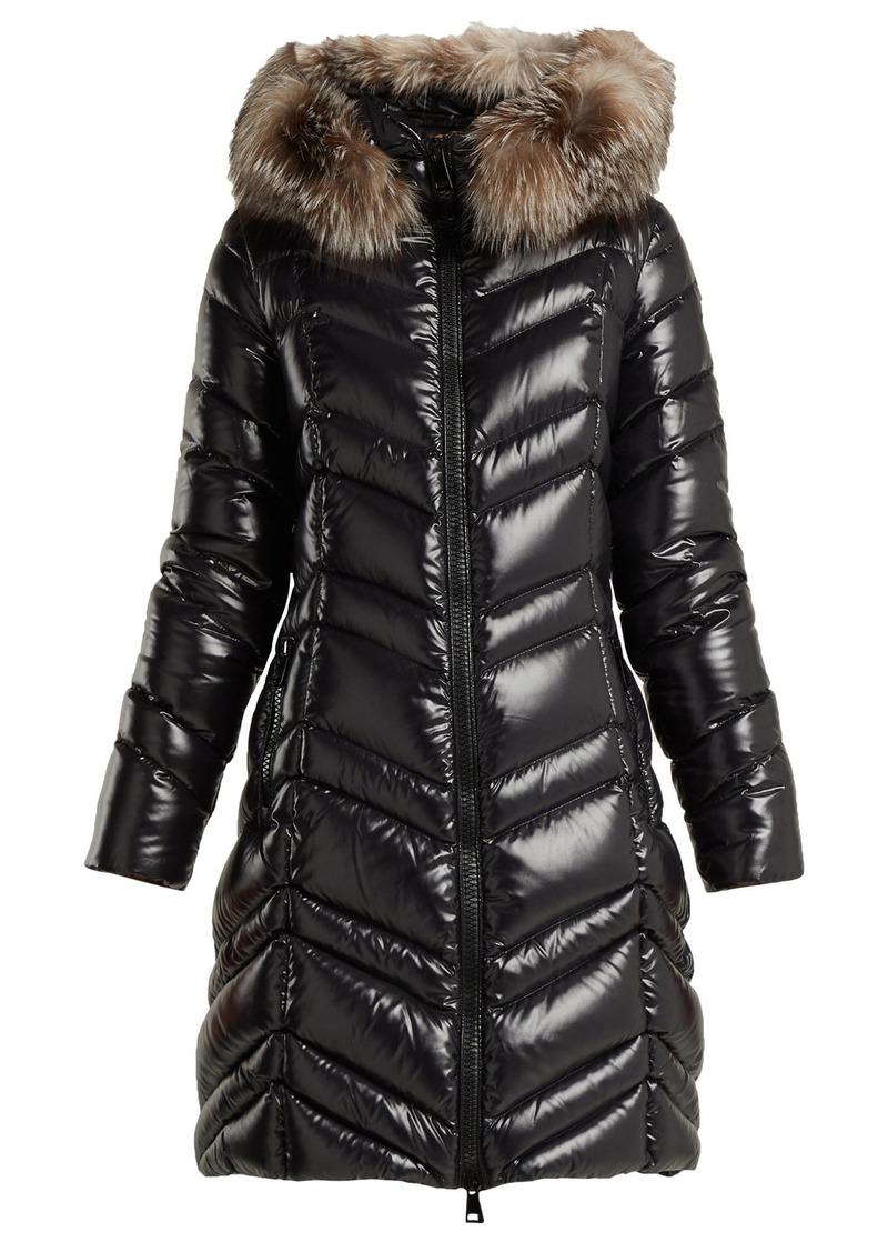 fe07891490c4 Moncler Moncler Fulmar quilted down coat