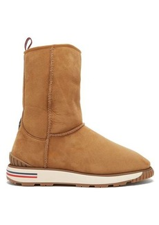 Moncler Gaby shearling-lined boot