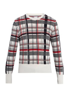 Moncler Checked cashmere sweater